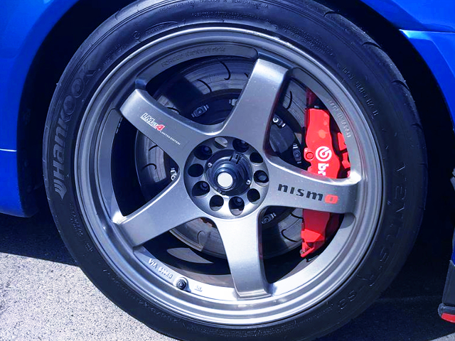 R35 Brembo BRAKE and LMGT4 WHEEL