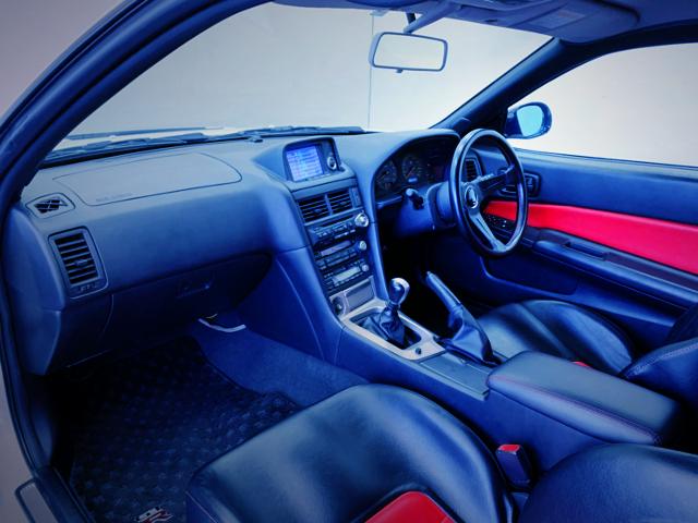 INTERIOR DASHBOARD OF R34 GT-R V-SPEC