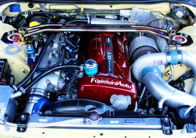 RB26 With TO4Z SINGLE TURBO.
