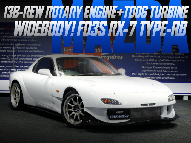 TD06 TURBOCHARGED FD3S RX7 WIDEBODY
