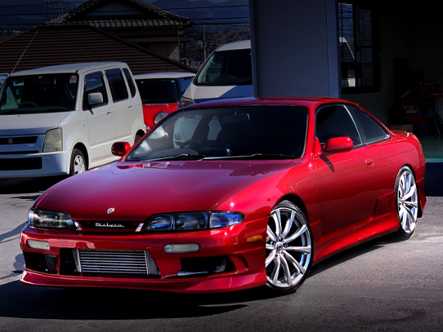 FRONT EXTERIOR OF S14 SILVIA K's