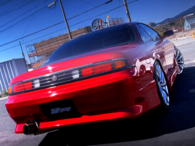 REAR KOUKI TAIL LIGHT CONVERSION TO ZENKI S14 SILVIA