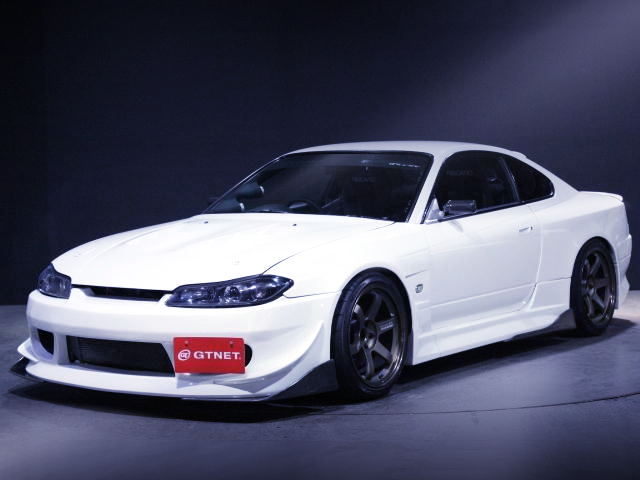 FRONT EXTERIOR OF S15 SILVIA SPEC-R V-PACKAGE.