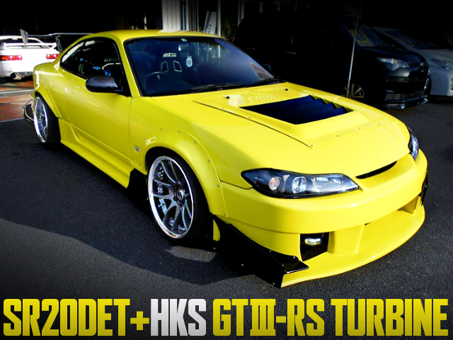HKS GT3-RS TURBOCHARGED S15 SILVIA WIDEBODY