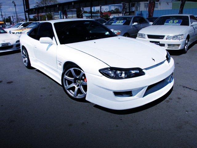 FRONT EXTERIOR OF S15 FRONT END TO 180SX TYPE-X.