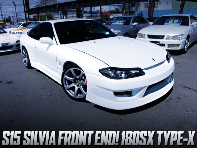 S15 FRONT END CONVERSION TO 180SX TYPE-X.