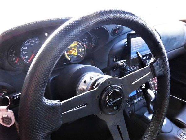 STEERING AND SPEED CLUSTER OF PORSCHE 996 TURBO
