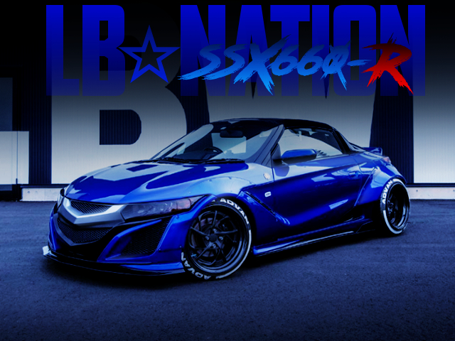 LB SSX660R WIDEBODY OF HONDA S660