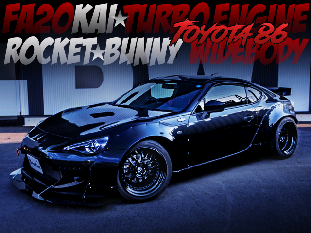 ROCKETBUNNY BODY AND FA20 TURBO INTO TOYOTA 86