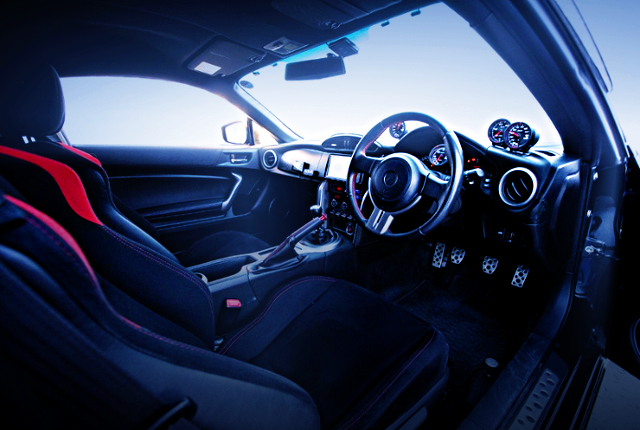 INTERIOR OF TOYOTA 86