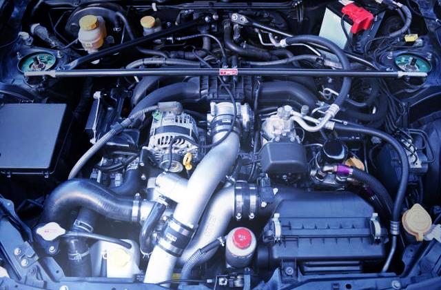 HKS GT SUPERCHARGER ON FA20 BOXER ENGINE