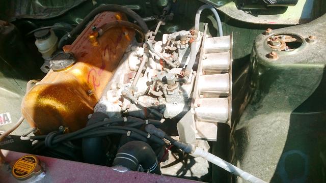 2000cc ENGINE INTO A THUNDERBIRD 2 REPLICA