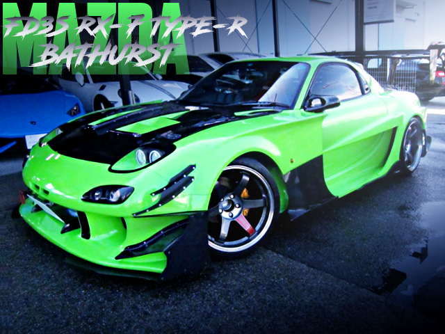 TCP-MAGIC G-FACE TYPE-GT WIDEBODY TO FD3S RX-7 TYPE-R BATHURST