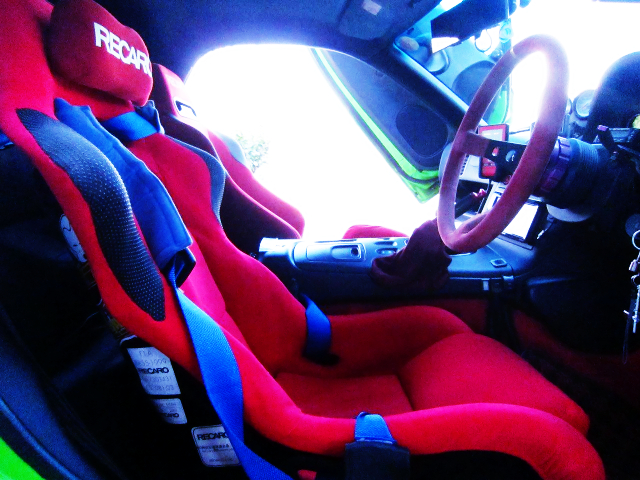 DRIVER'S FULL BUCKET SEAT
