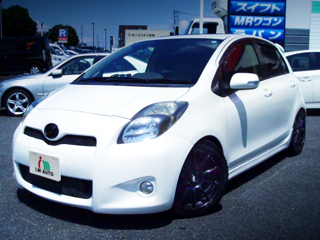 FRONT EXTERIOR NCP91 VITZ TO CVT-SHIFT.