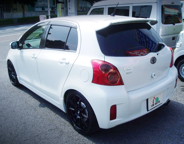 REAR EXTERIOR NCP91 VITZ TO CVT-SHIFT.