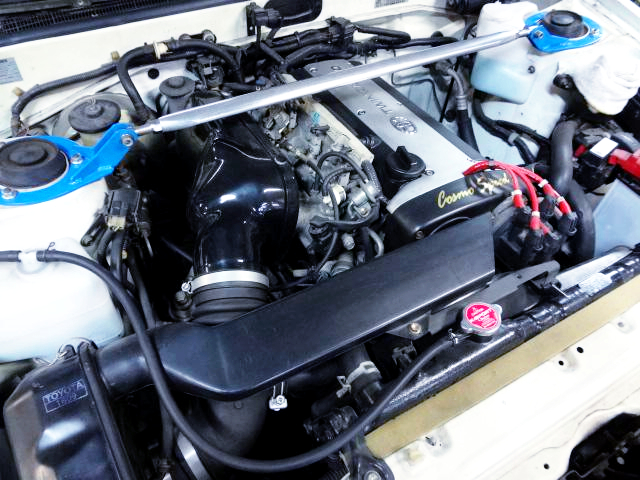 20-VALVE 4AG ENGINE With ITB's.