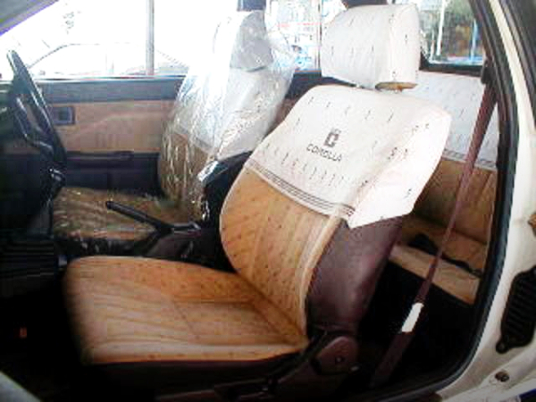 FRONT SEATS AE85 COROLLA LEVIN LIME.