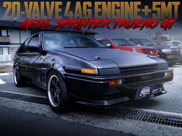 20V 4AG SWAPPED AE86 TRUENO GT TO HATCH 3-DOOR.