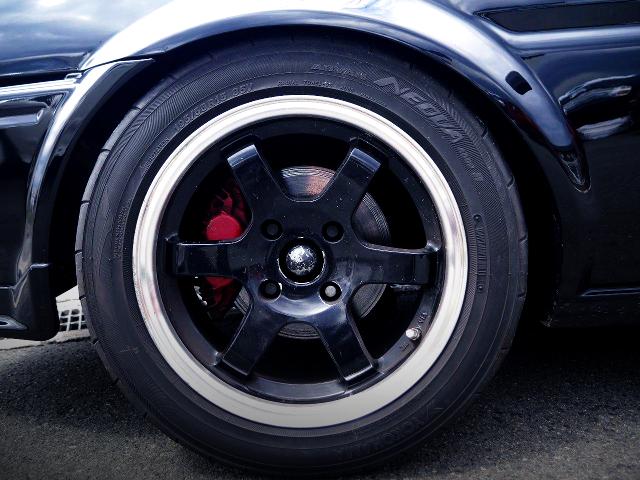 FC3S 4POT BRAKE CALIPER CONVERsION TO AE86 TRUENO GT.