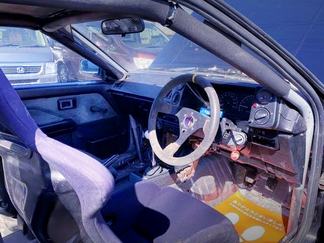 AE86 LEVIN CUSTOM INTERIOR.