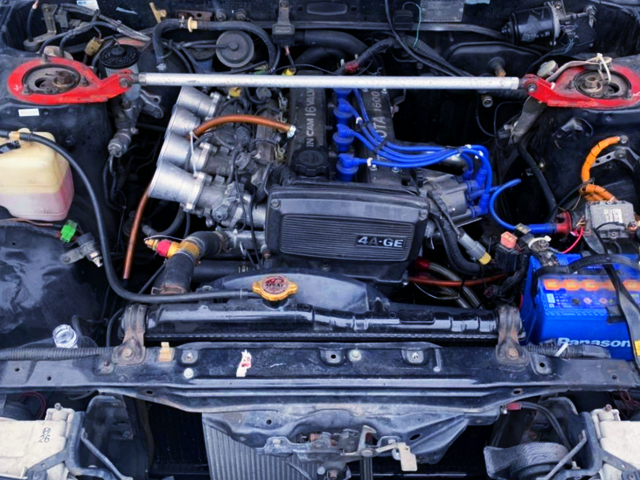 16V 4AG ENGINE With ITB's.