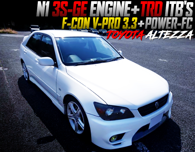 N1 3S-GE With TRD ITB's INTO ALTEZZA.