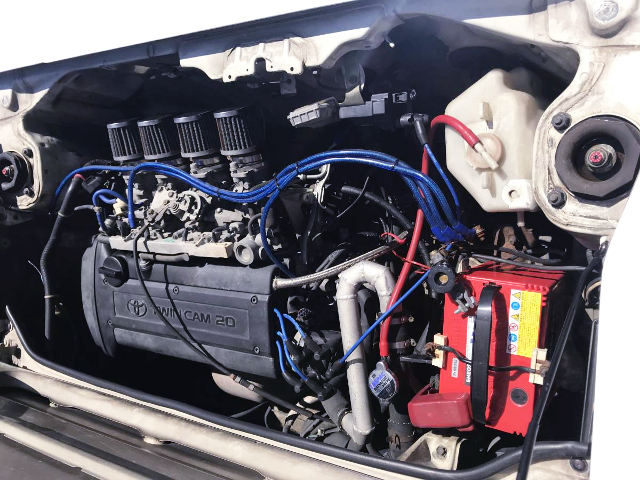 AE111 20V 4AG ENGINE With ITB's.