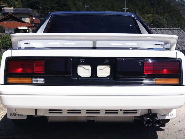 REAR TAIL LIGHT OF AW11 TOYOTA MR2 G-LIMITED.
