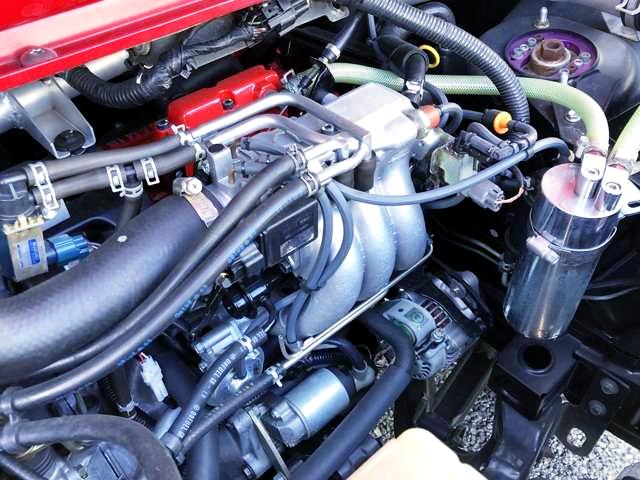 REBULT F6A TURBO ENGINE.