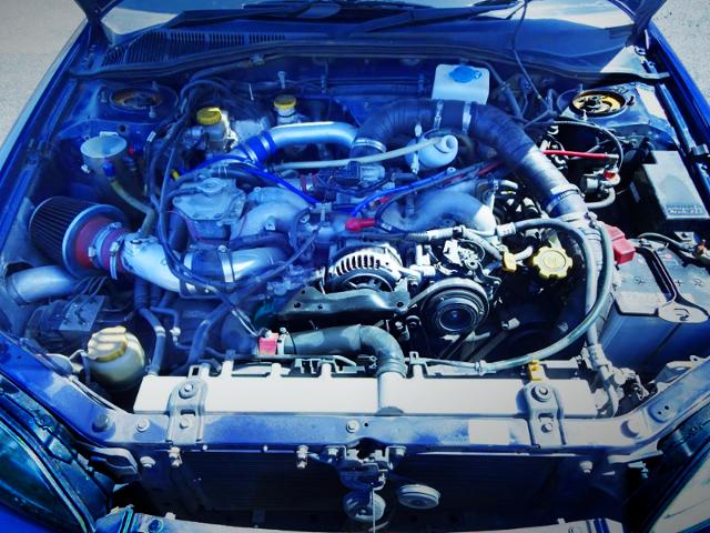 EJ25 2500cc BOXER TURBO ENGINE.