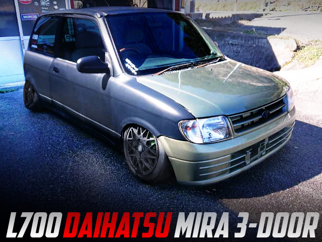 CAMBER AND STANCE With L700 DAIHATSU MIRA 3-DOOR.