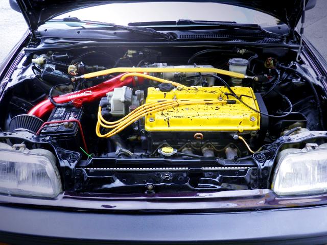 B16A VTEC ENGINE.