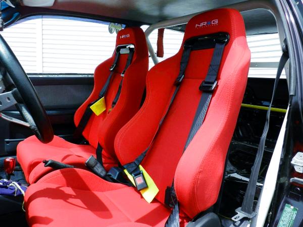 NRG BUCKET SEATS.
