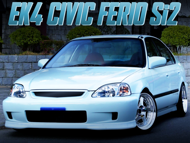 Wire Tuck CUSTOM TO EK4 CIVIC FERIO Si2 LIGHT BLUE.