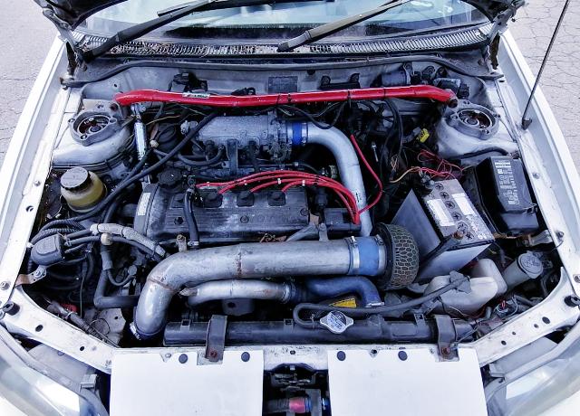 4E-FTE 1300cc TURBO ENGINE OF EP91 STARLET Glanza V MOTOR.