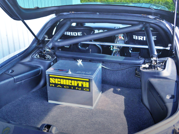 ROLL CAGE INSTALLED FD RX7.