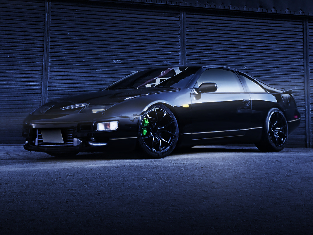 FRONT EXTERIOR OF GCZ32 FAIRLADY Z.
