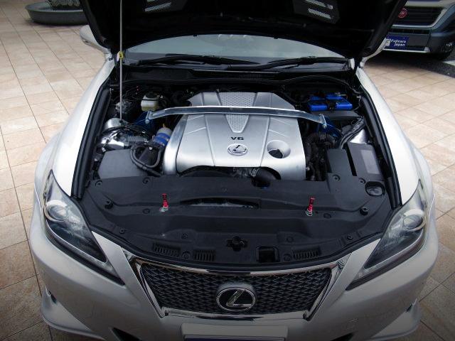 2GR-FSE 3.5L ENGINE with HKS SUPERCHARGER.