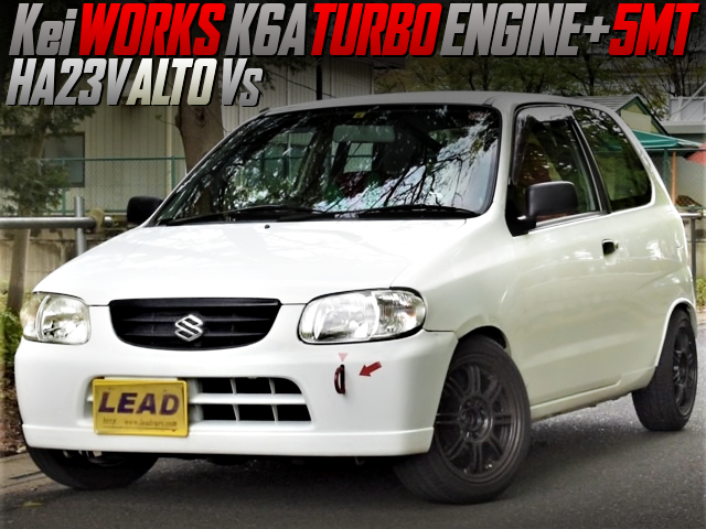 KeiWORKS K6A TURBO SWAP With 5MT INTO HA23V ALTO VAN Vs.