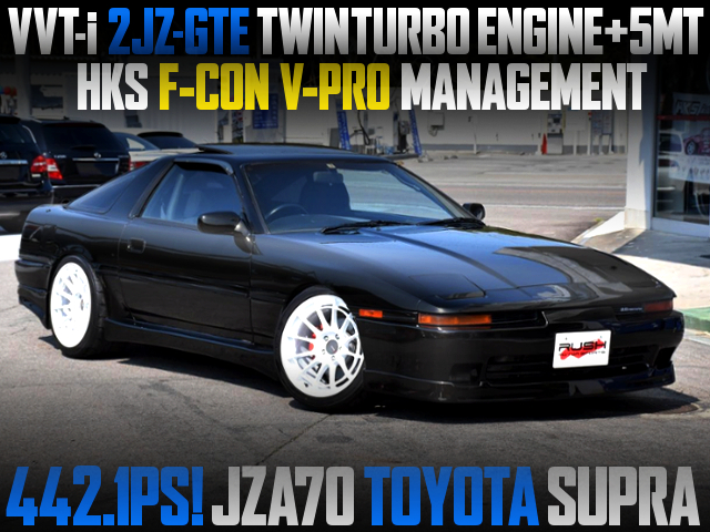 2JZ-GTE TWINTURBO SWAP With 5MT INTO JZA70 SUPRA KOUKI.