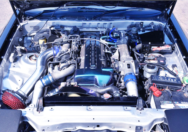 VVT-i 2JZ-GTE TWINTURBO ENGINE.