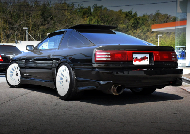 REAR EXTERIOR OF JZA70 SUPRA KOUKI.