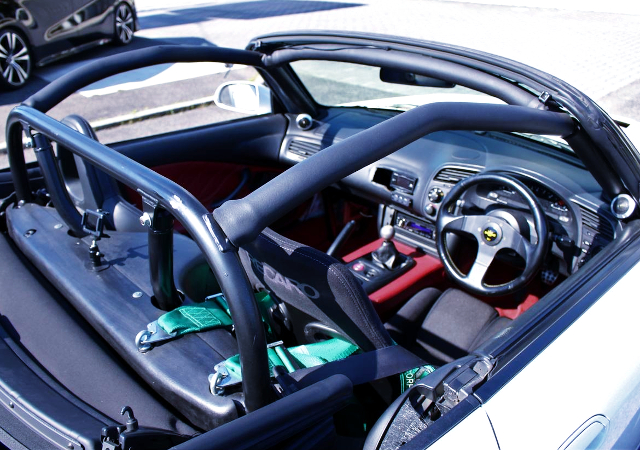 ROLL CAGE INSTALLED AP1 S2000.