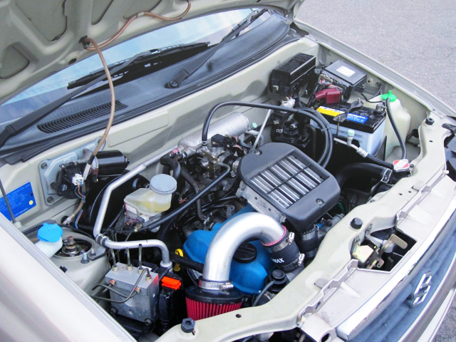 K6A TWINCAM INTERCOOLER TURBO ENGINE OF 60PS M-TURBO MOTOR.