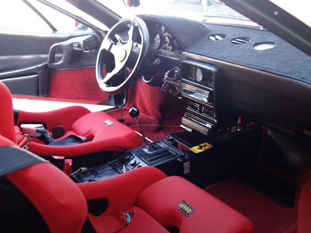 FERRARI GTB TURBO INTERIOR.