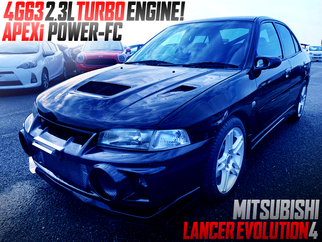 4G63 2300cc TURBO AND POWER-FC INTO LANCER EVOLUTION 4.