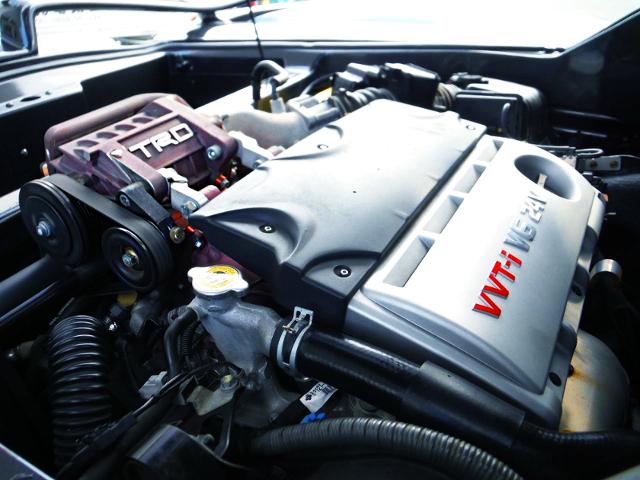 TRD SUPERCHARGED 3MZ-FE 3.3L V6 ENGINE.