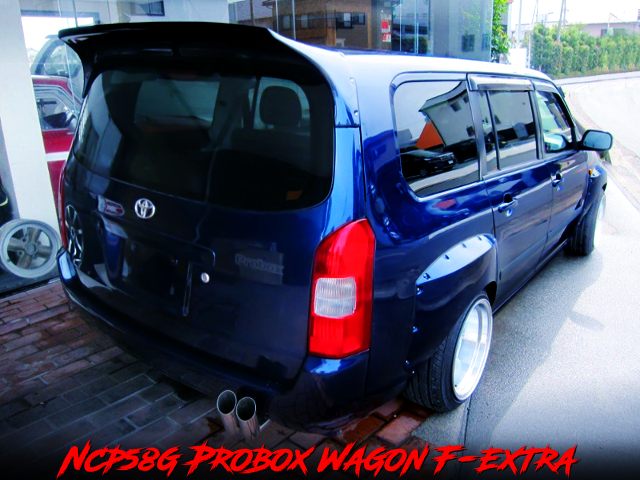 EXTEND WIDEBODY OF NCP58G PROBOX WAGON F-EXTRA.