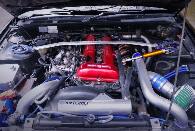 S13 RED-TOP SR20DET TURBO ENGINE.
